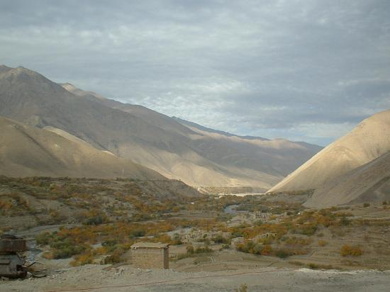 vallée du PANDJSHIR, fief du Cdt MASSOUD